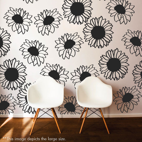 Sunflower Pattern - Dana Decals - 2