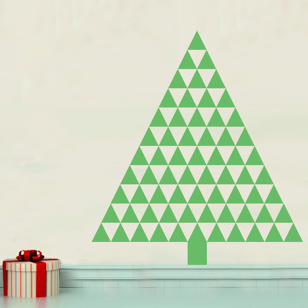 Triangle Tree - Dana Decals - 1