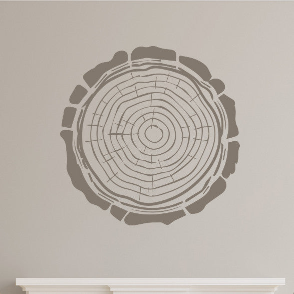 Tree Trunk Rings - Dana Decals - 1