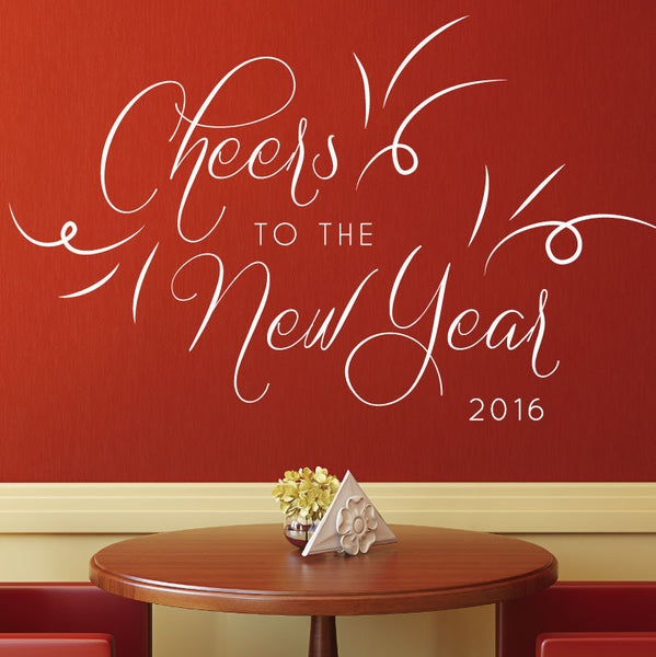 Cheers to the New Year - Dana Decals