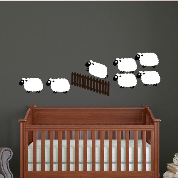 Counting Sheep - Dana Decals - 1