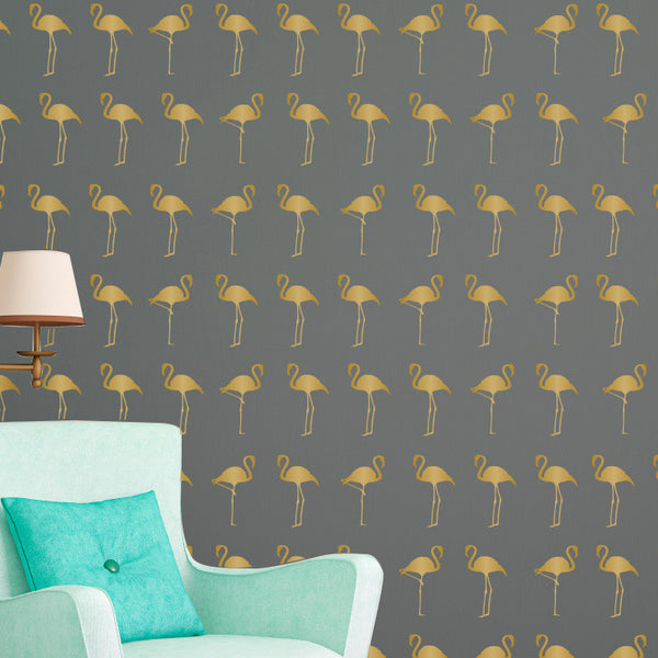 Flamingos Pattern - Dana Decals