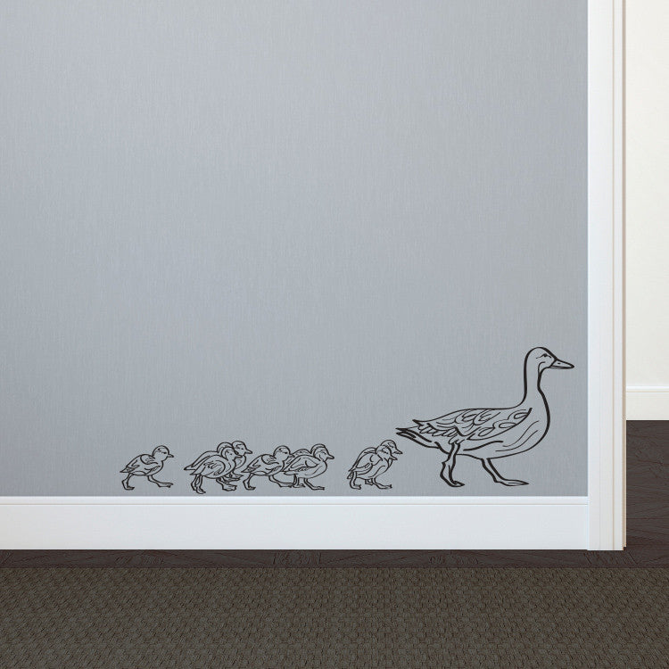 Ducklings in a Row - Dana Decals - 1