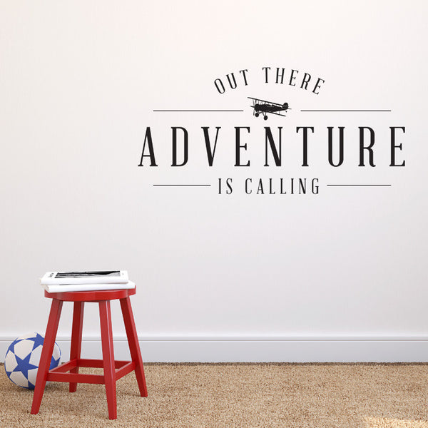 Adventure is Calling Quote - Dana Decals - 1