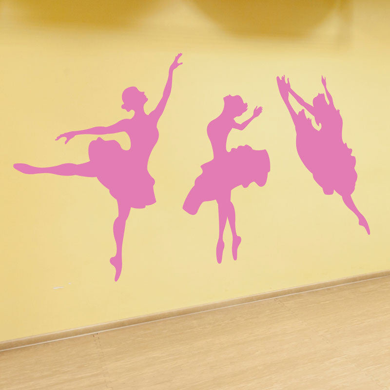 Dancing Ballerinas - Dana Decals - 1