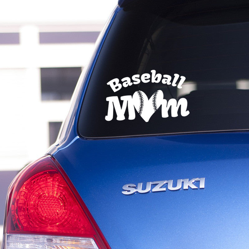 Sports Mom Decal - Dana Decals