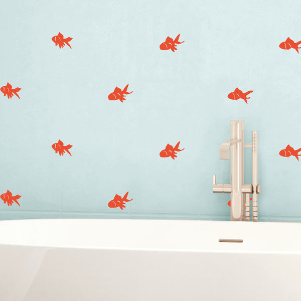 Goldfish Pattern - Dana Decals - 1