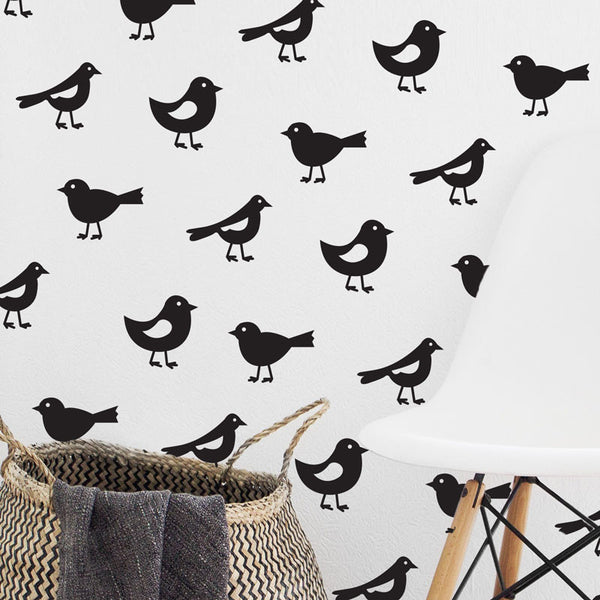 Bird Repeatable Pattern - Dana Decals - 1