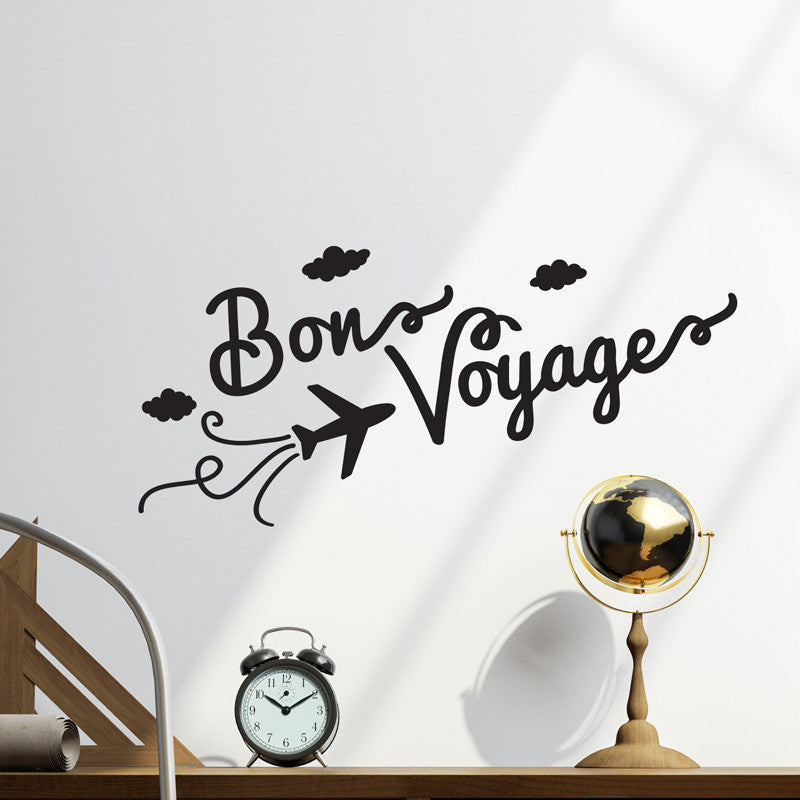 Bon Voyage Quote Decal - Dana Decals