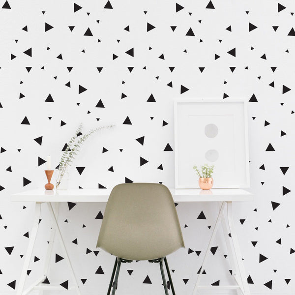 Multi-size Tiny Triangle  Pattern - Dana Decals - 1
