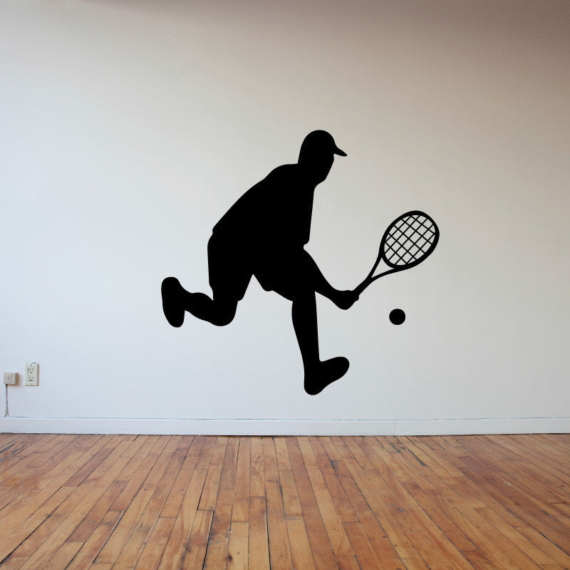 Male Tennis Player - Dana Decals