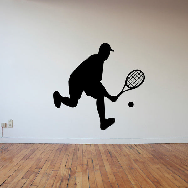 Male Tennis Player - Dana Decals - 1
