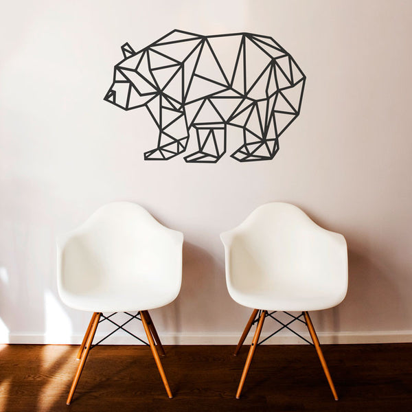 Geometric Bear - Dana Decals