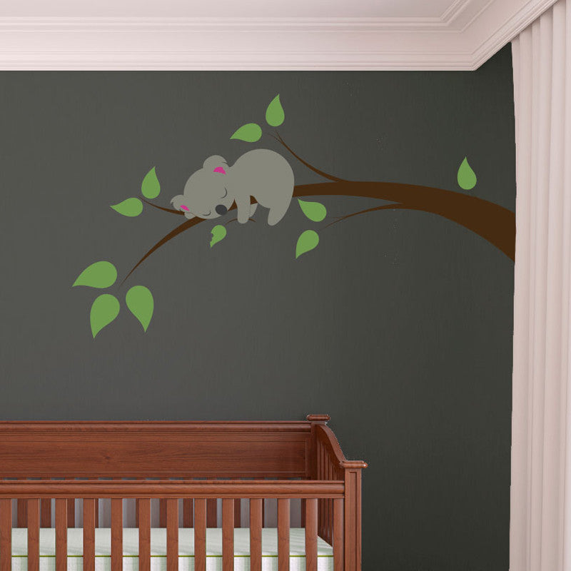 Sleeping Koala Branch - Dana Decals - 1