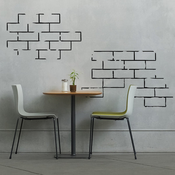 Brick Wall Segments - Dana Decals - 1