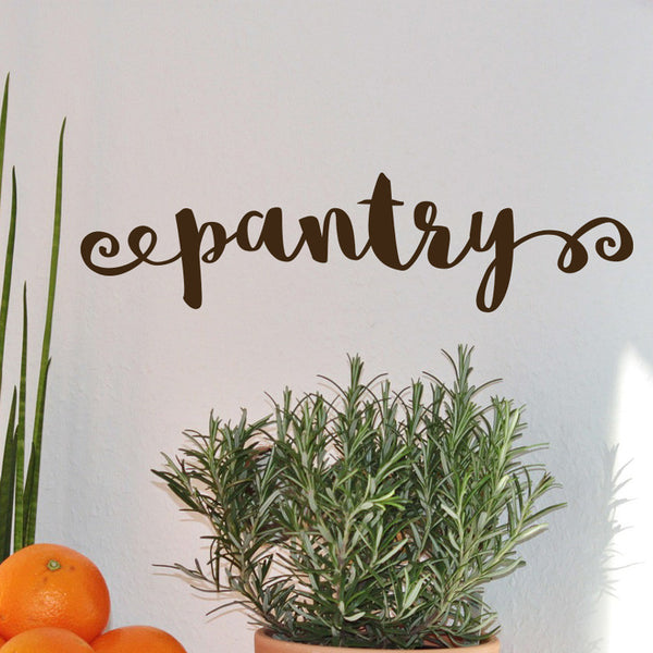 Kitchen Pantry Sign - Dana Decals - 1