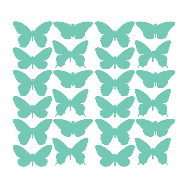 24 Piece - Butterfly Pattern SALE - Dana Decals