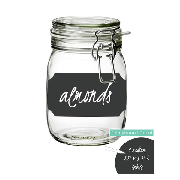 Large Chalkboard Label Stickers - Dana Decals - 1