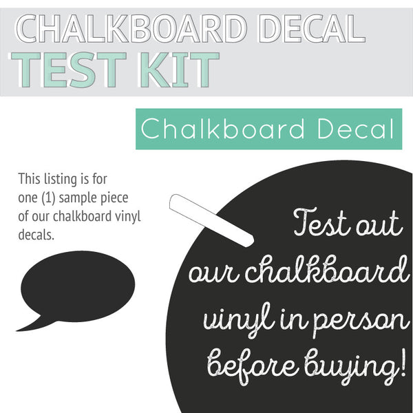Chalkboard Sample Kit - Dana Decals
