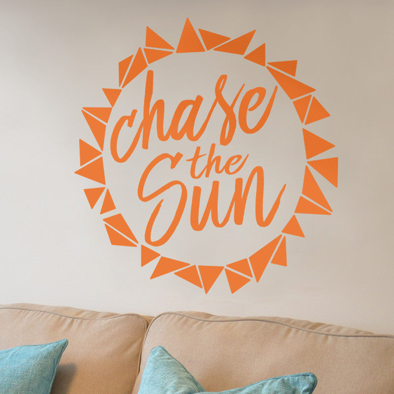 Chase The Sun - Dana Decals