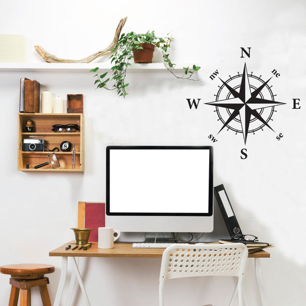 Nautical Compass - Dana Decals