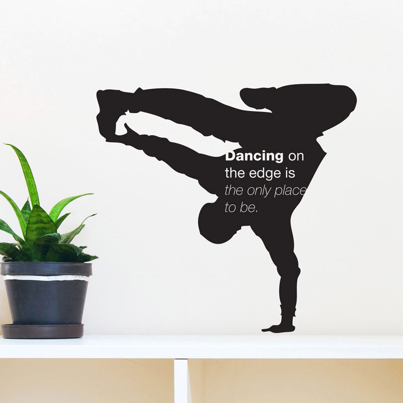 Dancing On The Edge - Dana Decals - 1