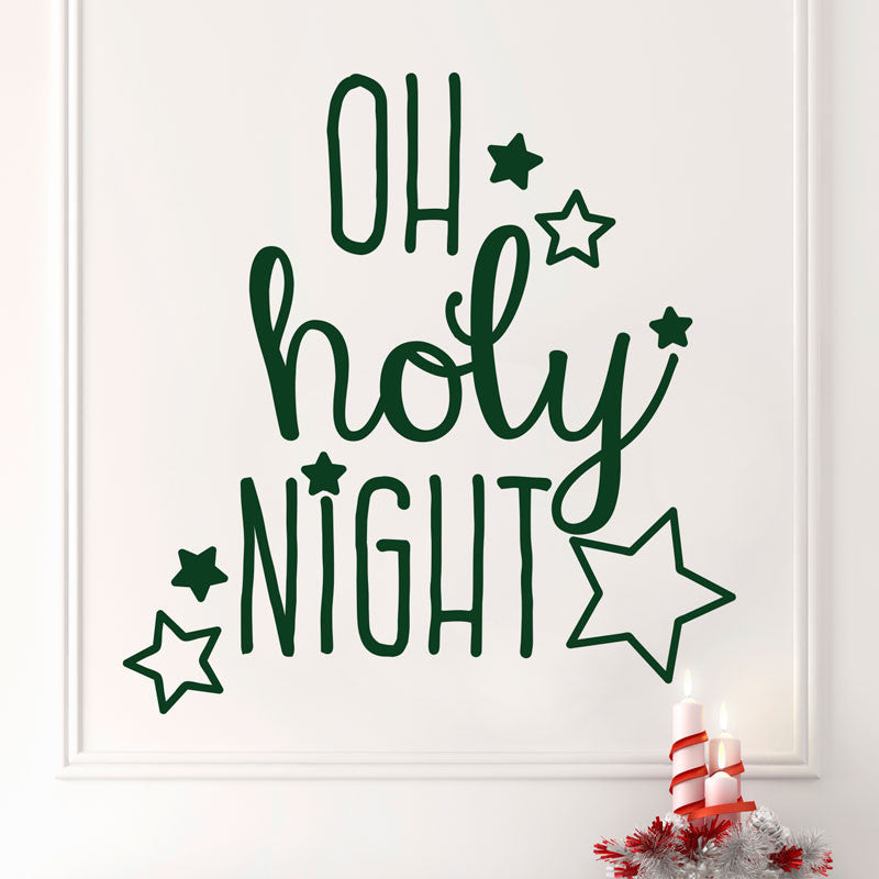 Oh Holy Night - Dana Decals - 1