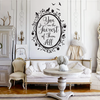 Snow White Fairest of Them All Quote in Woodland Mirror - Dana Decals - 2