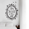 Snow White Fairest of Them All Quote in Woodland Mirror - Dana Decals - 5