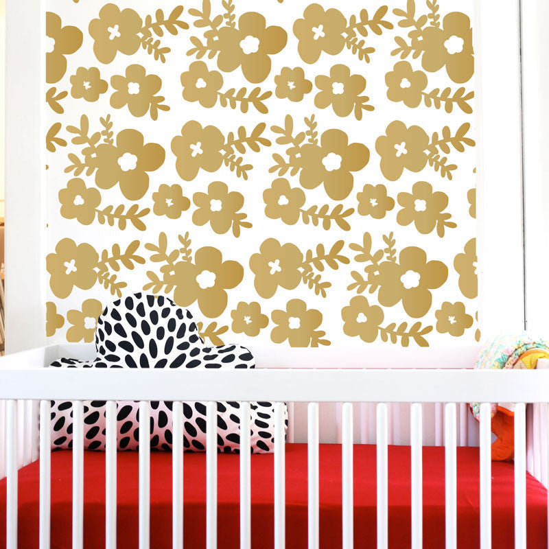 Large Floral Pattern - Dana Decals - 1
