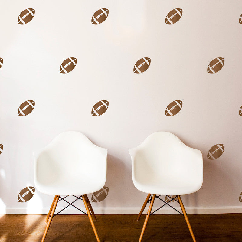 Football Pattern - Dana Decals - 1