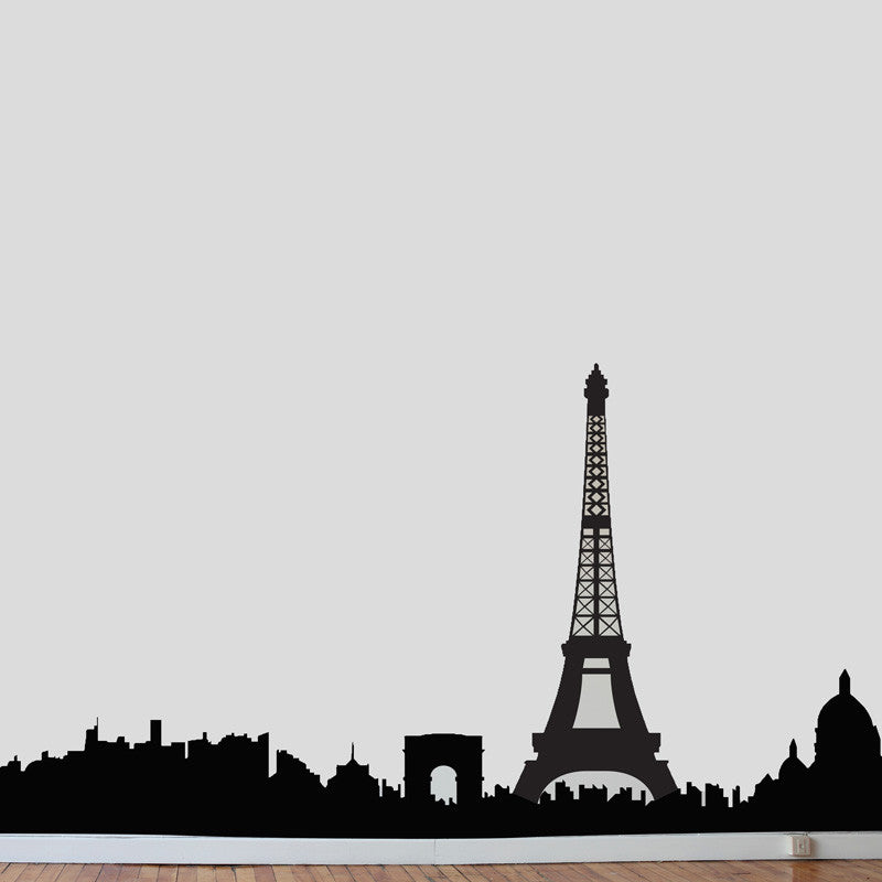 Paris Skyline - Dana Decals - 1