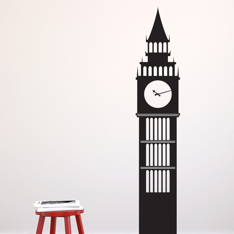London Big Ben Clock Tower - Dana Decals