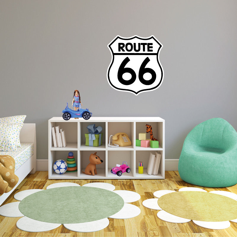 Route 66 Sign - Dana Decals - 1