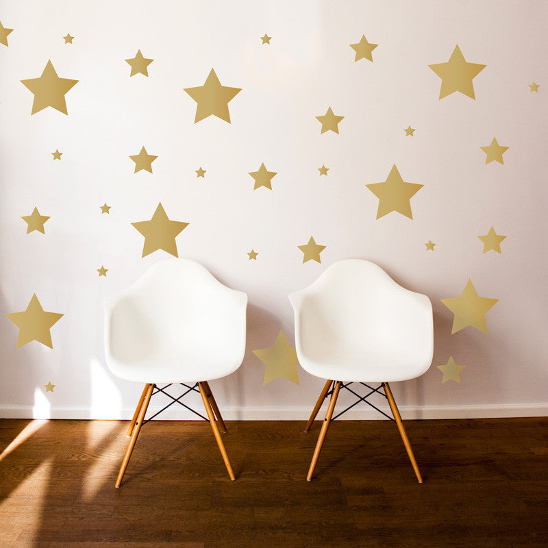 Multi-size Star Pattern - Dana Decals - 1