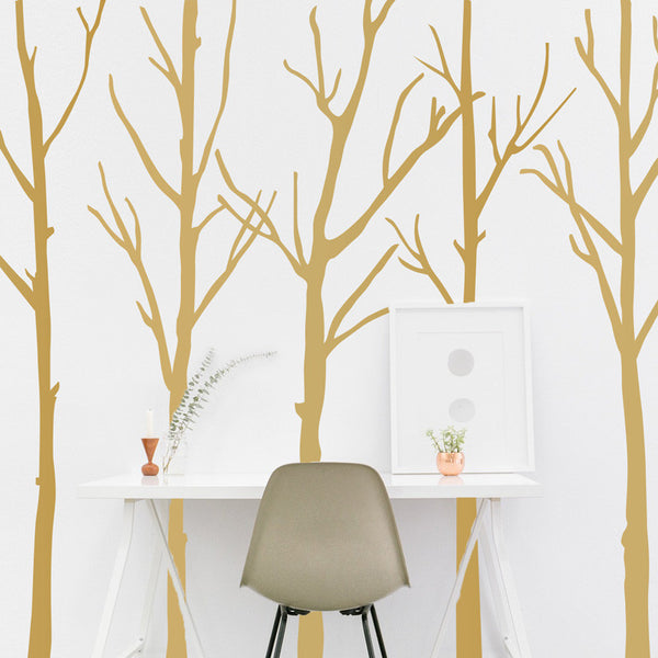 Leafless Winter Trees - Dana Decals