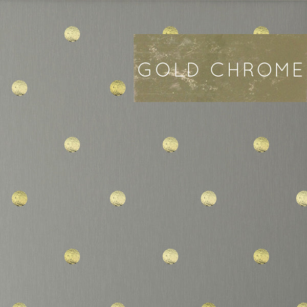 Gold Polka Dots Pattern Wall Decal Shop Decals At Dana
