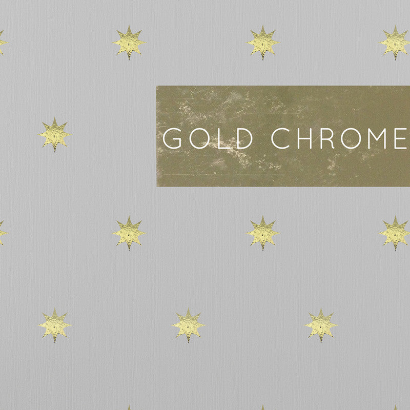 Gold Chrome Stars - Dana Decals
