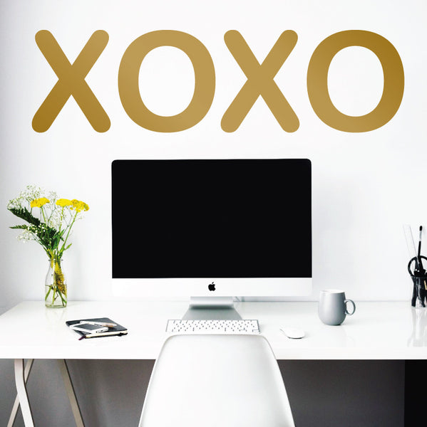 Oversized XOXO Sign - Dana Decals - 1