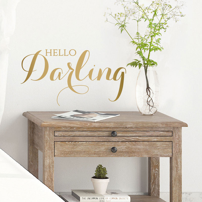 Hello Darling - Dana Decals - 1