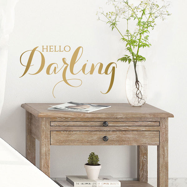 Hello Darling - Dana Decals