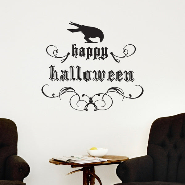 Elegant Happy Halloween - Dana Decals