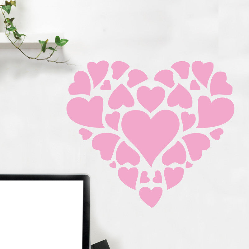 Hearts Collage - Dana Decals - 1