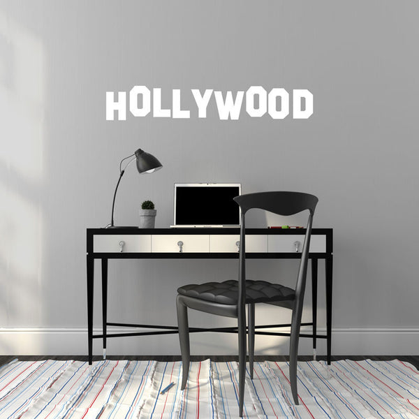 California Hollywood Sign - Dana Decals