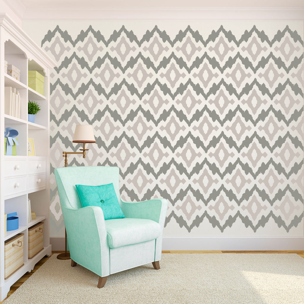Ikat Tribal Pattern - Dana Decals