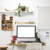 I'mpossible Quote - Dana Decals - 2