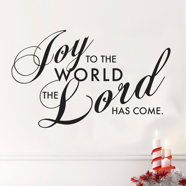 Joy to the World - Dana Decals - 1
