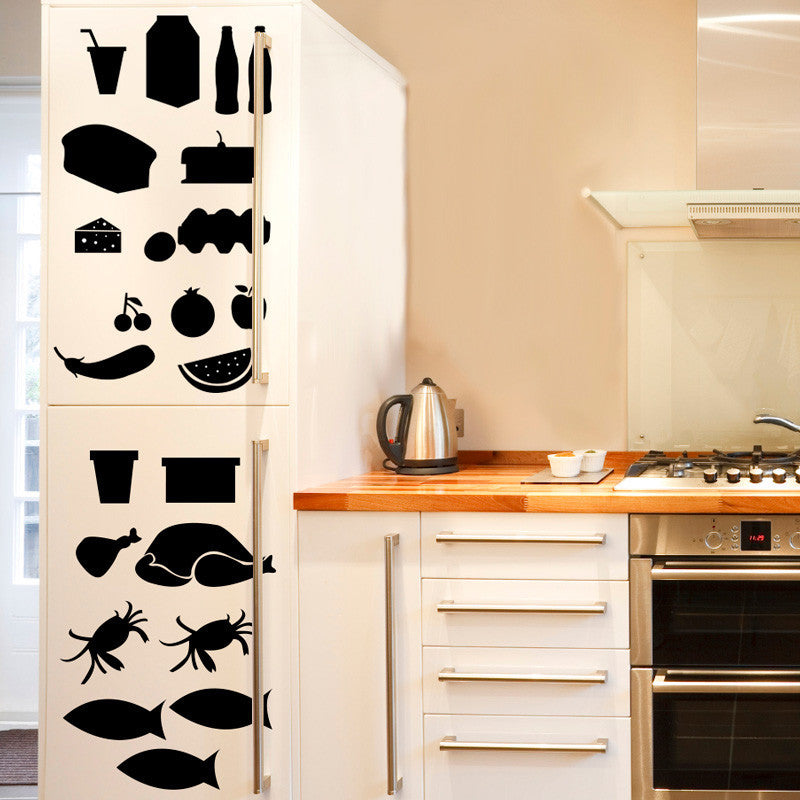 Refrigerator X-RAY - Dana Decals - 1