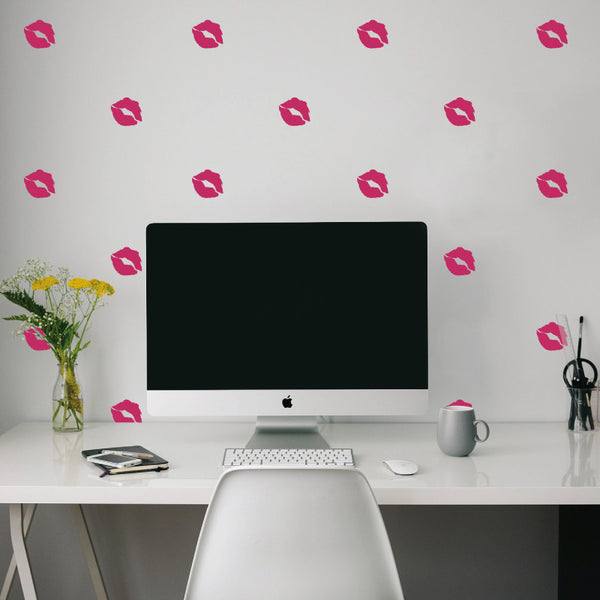 Kiss Lips Pattern - Dana Decals - 1