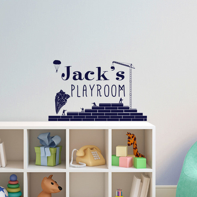 Custom Personalized Sign for a Boy - Dana Decals
